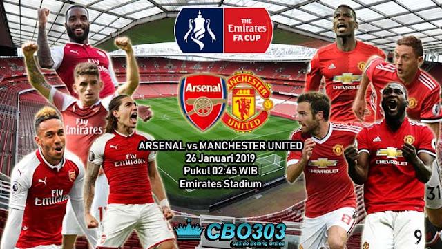PREDIKSI BOLA: Arsenal vs Manchester United