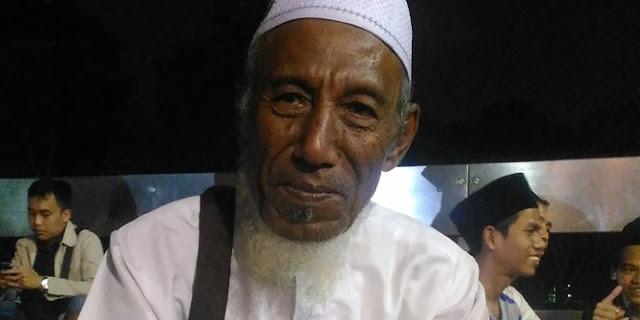 Demi Ikut Aksi Damai, Kakek Berusia 80 Tahun Ini Tempuh 72 Jam Perjalanan Dari Tempat Tinggalnya