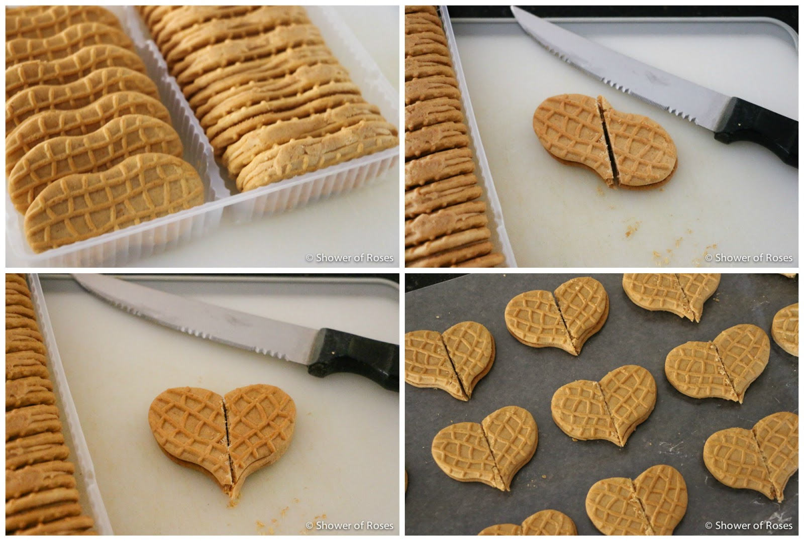 Shower of Roses: Nutter Butter Heart Cookie Valentines - photo#28
