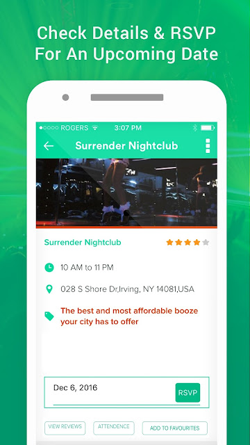 Barscan nightlife android app preview