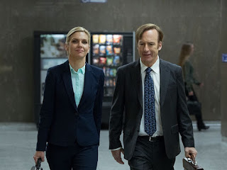 Better Call Saul, Rhea Seehorn & Bob Odenkirk Go to Work