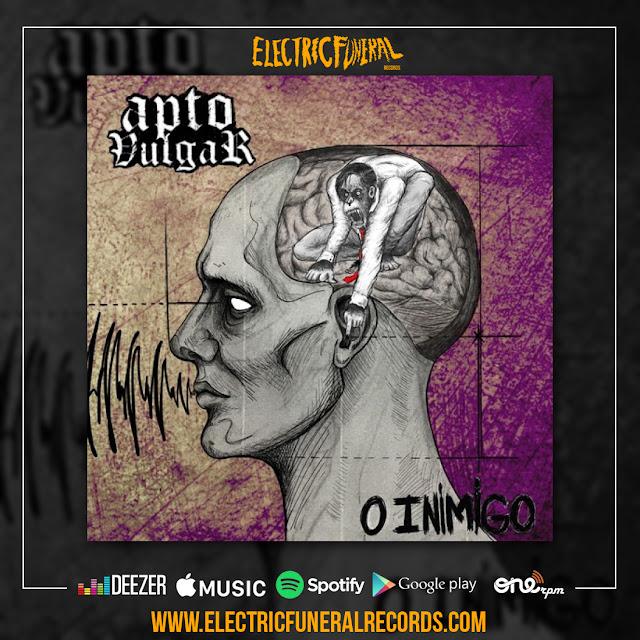 Apto Vulgar, entre o hardcore e metal, lança single Inimigo