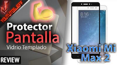 El mejor protector de pantalla para xiaomi mi max 2, resistente y con una excelente calidad precio.