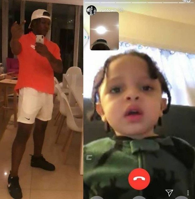 Travel Ban Force Runtown Into Playing Fatherly Role Online