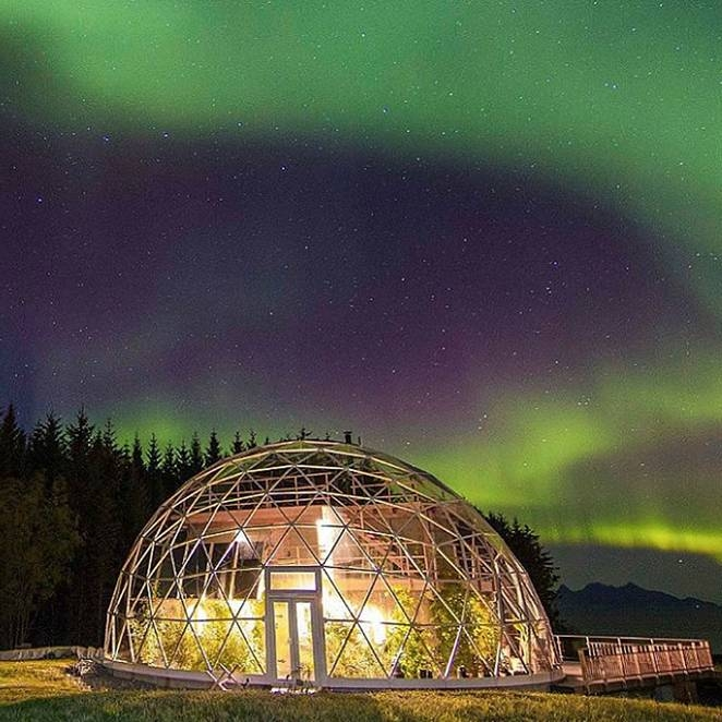 11-Hjertefølgers-Architecture with a Cob House built in a Geodesic Dome in the Arctic Circle