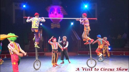 Circus Show Descriptive Essay