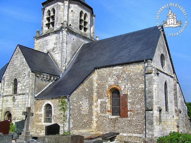 SAINNEVILLE (76) - Eglise Saint-Maclou