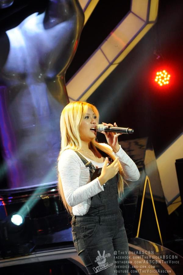 Christelle Tiquis sings 'Make You Feel My Love' on 'The Voice PH'
