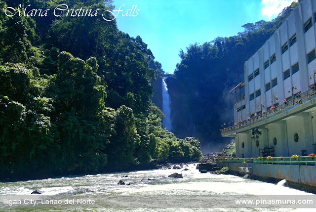 Maria Cristina Falls and Powerplant