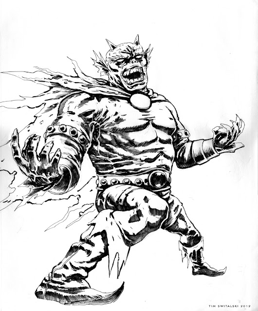 Look at my Doodle: Day 25: Etrigan the Demon