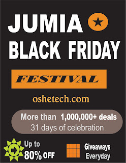 Jumia Black Friday 2017 is here again! Date has been released