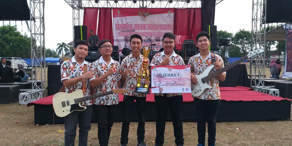 Band SMA Kalam Kudus Raih 2 Gelar Juara dalam 1 Hari