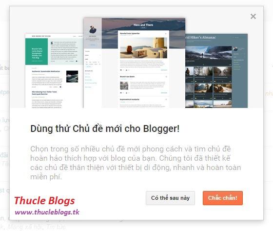 Google Blog (Blogger) mới cho ra mắt nhiều chủ đề mới thú vị và hấp dẫn
