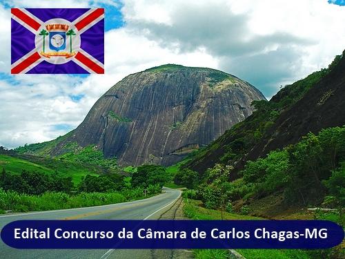 Saiu o Edital Concurso da Câmara de Carlos Chagas 2018