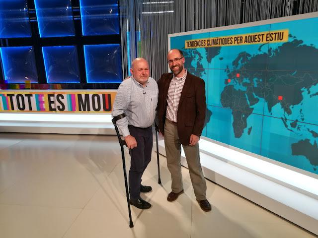 Amb en Pep Bernadas a TOT ES MOU TV3