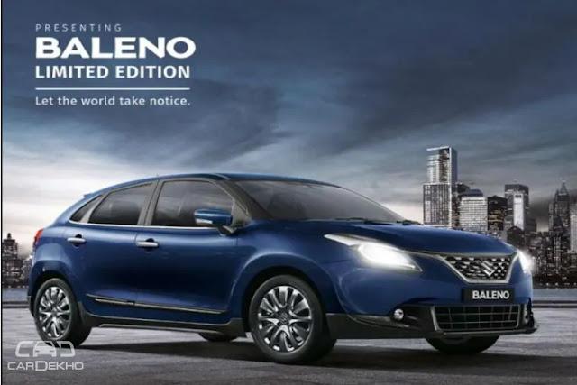Maruti Suzuki Baleno Specifications, features, colour and price list