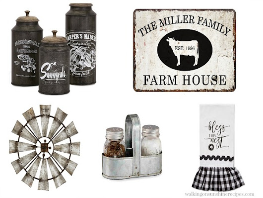 Decorating: Kitchen Farmhouse Decor that you can Afford!