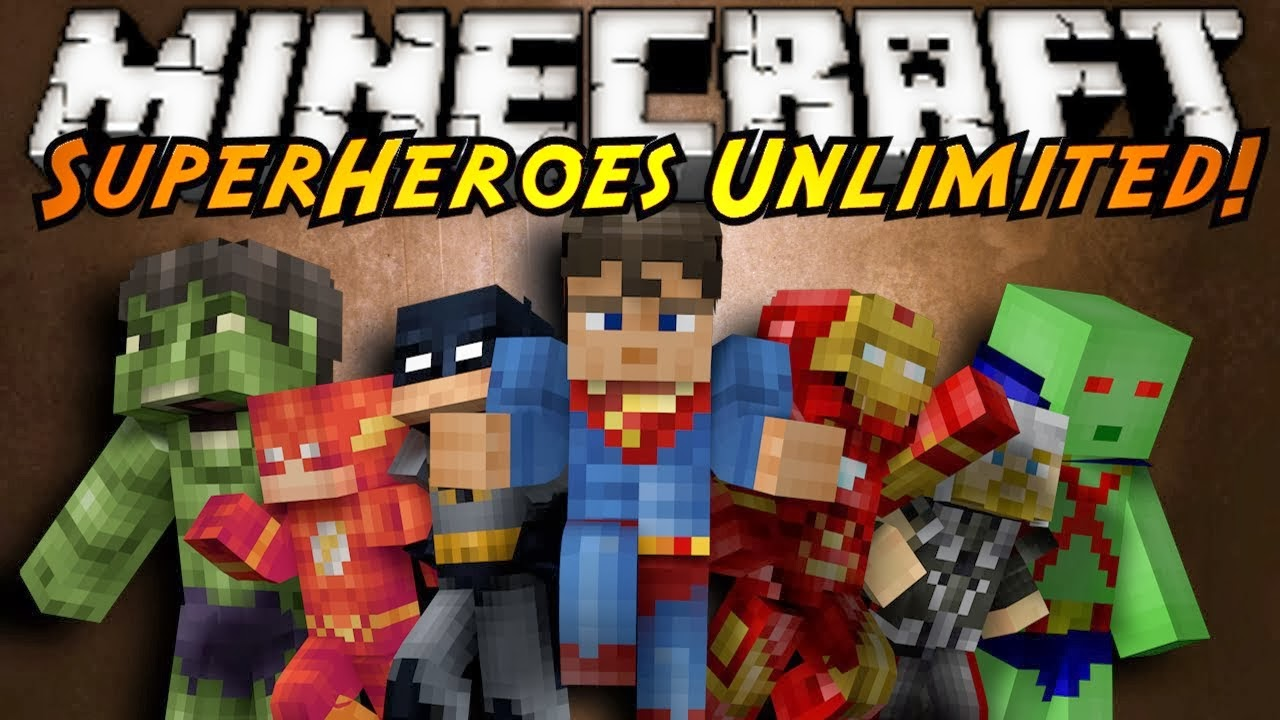 Superheroes Unlimited Mod Crafting Recipes Not Showing
