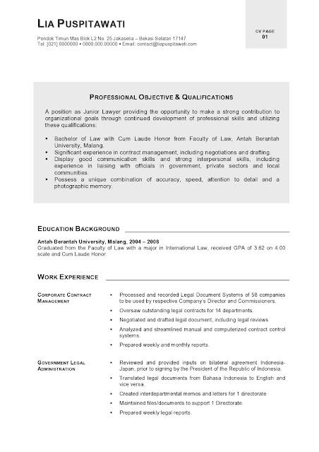 curriculum vitae  curriculum vitae template one page