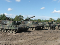 TNI Tempatkan Batalion Tank Leopard di Perbatasan RI-Malaysia