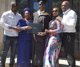 Musiliu Obanikoro, the Former Minister of State for Defence Graduates from US University