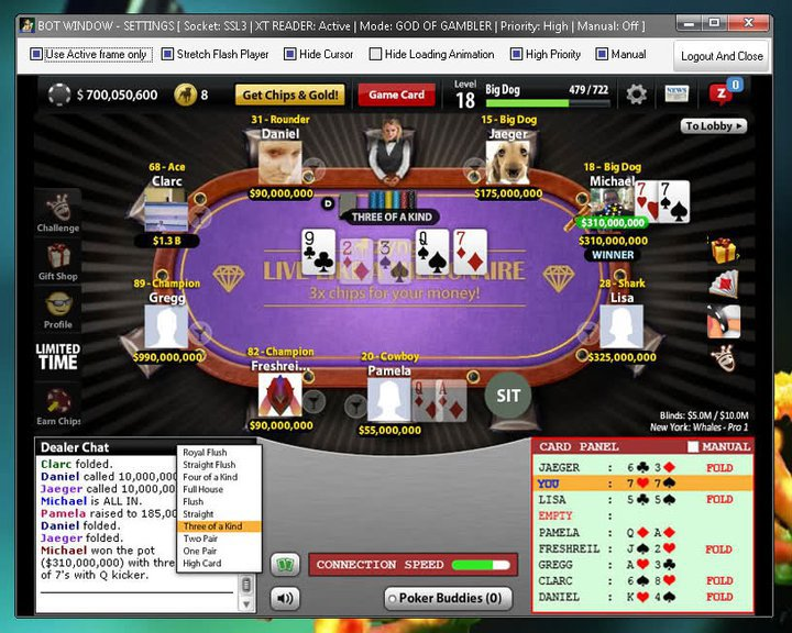 Cheats poker deluxe facebook