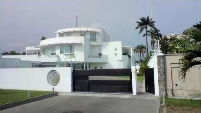Mr. Dangote's home (Africacadle)