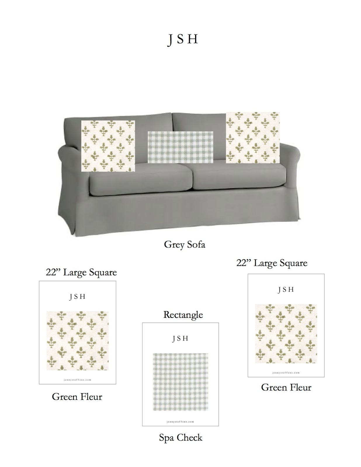 Sofa Rph Large Pillows Brown Jenny Steffens Hobick