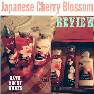 Bath & Body Works Japanese Cherry Blossom Review