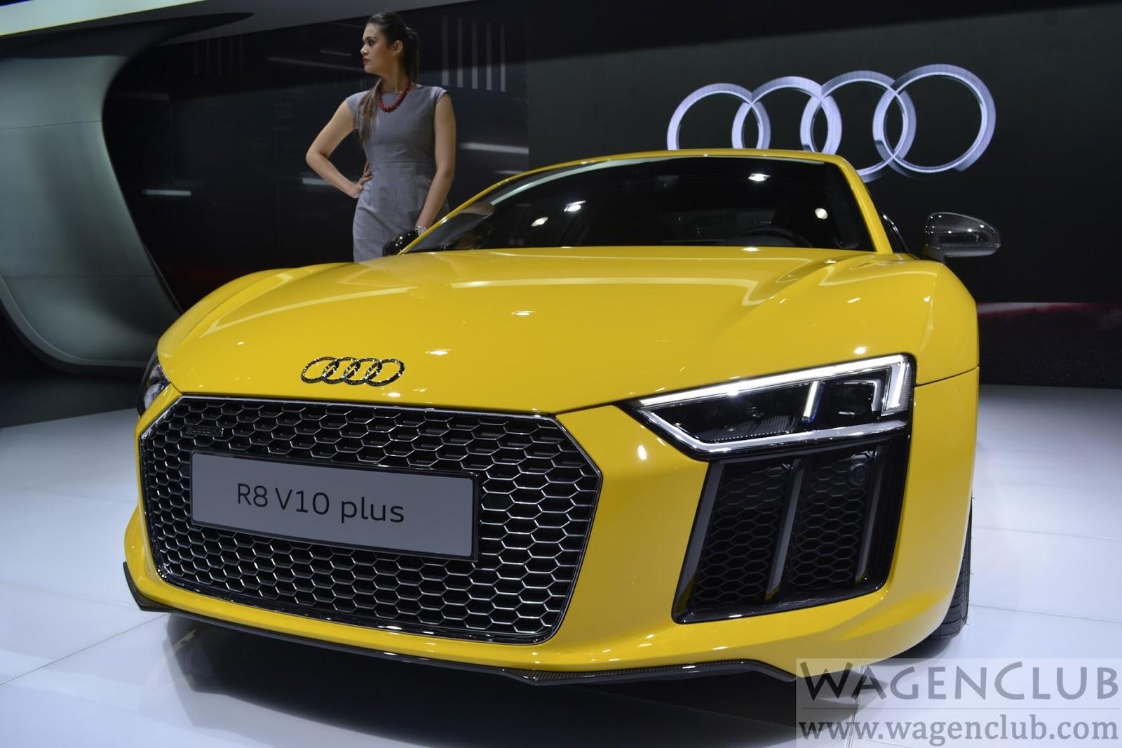 2016 Delhi Auto Expo Top 10 Concept Cars: 2016 Audi R8 V10 Plus Launched
