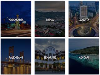 beberapa hotel di bawah manajemen metropolitan golden management