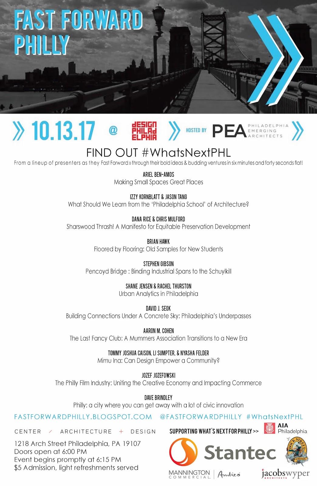 Friday October 13 2017  sc 1 st  Blogger & FastForwardPHL #WhatsNextPHL