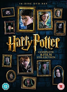 Harry Potter series on dvd, Complete 8 Film Collection 2016 Edition, rates29.99 pound