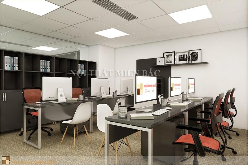 Thiết kế văn phòng làm việc giá rẻ