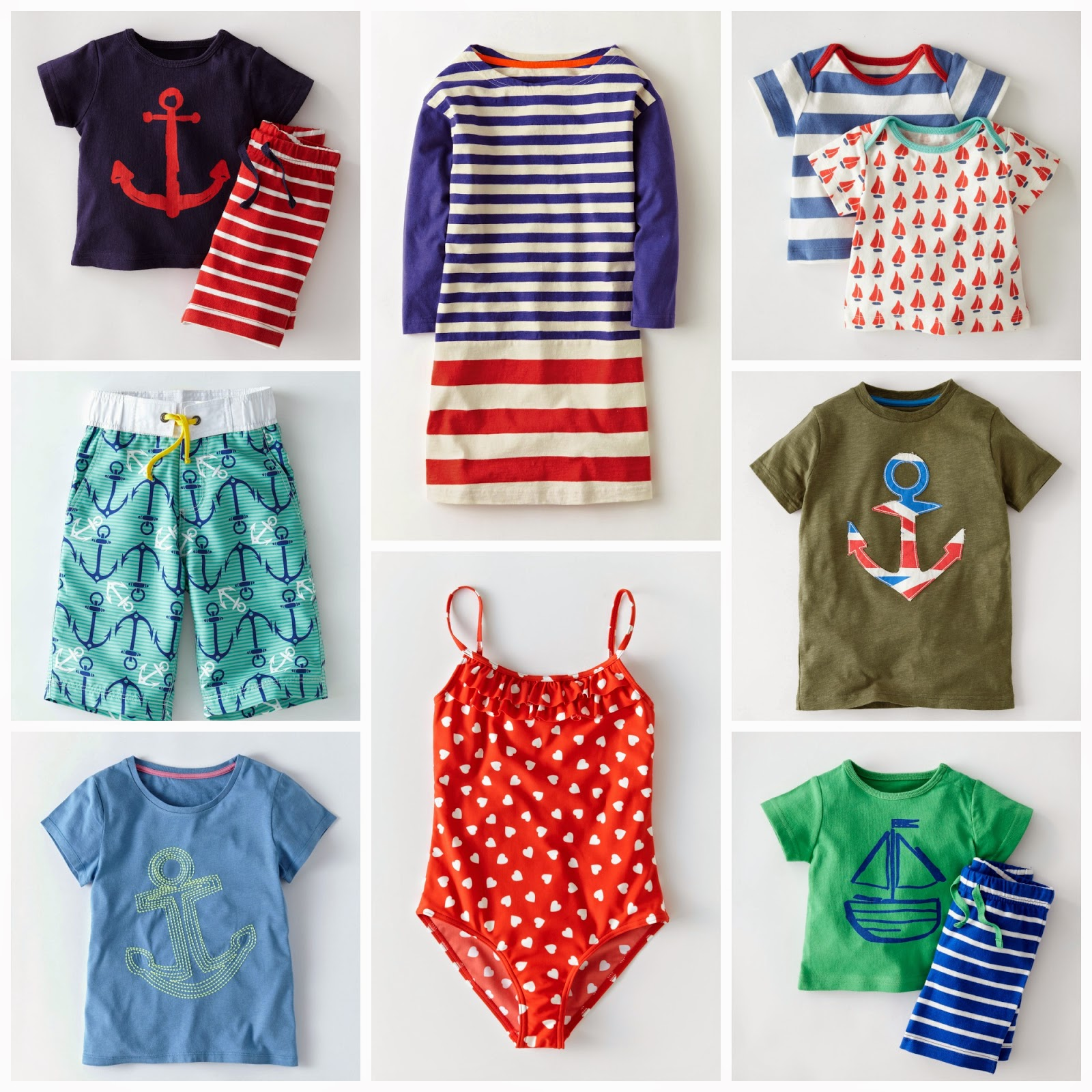 Nautical by Nature | Mini Boden Spring Summer 2014
