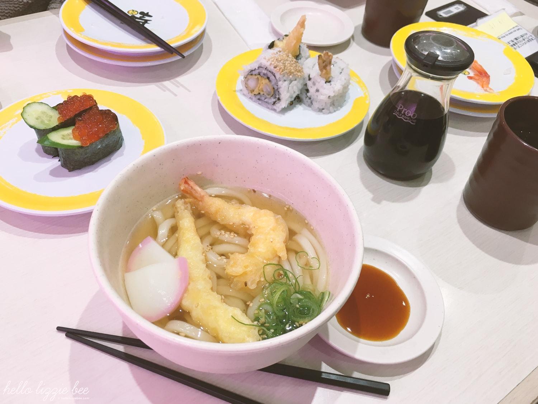 fresh sushi in tokyo