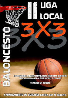 II LIGA LOCAL 3X3 BALONCESTO