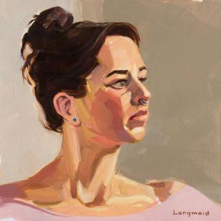 Американский художник. Kate Longmaid