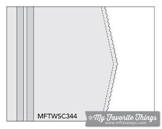 Sketch Challenge 344 #mftstamps