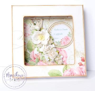 Kartka w pudełku – Pamiątka z okazji Ślubu