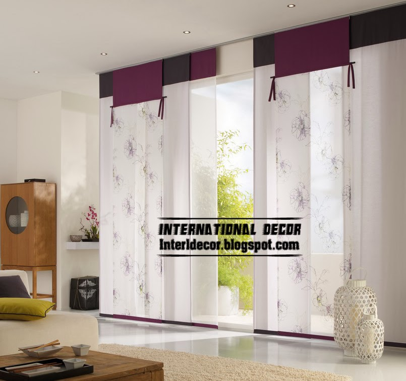 This is 15 trendy japanese curtain designs ideas for windows 2015 modern japanese curtain in purple for interior door planetlyrics Gallery