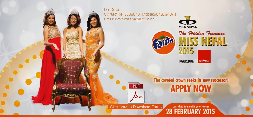 apply for miss nepal 2015 form download