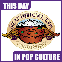 The first fruitcake toss event happened on January 3, 1996