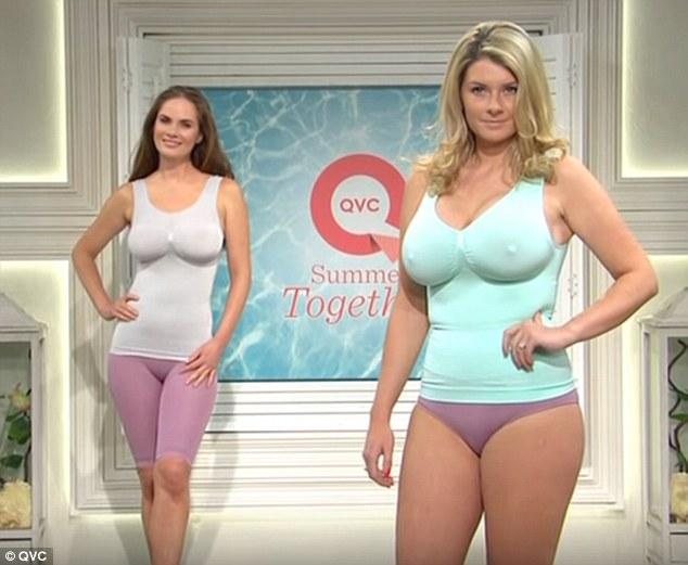 Ann nude deborah gaetano QVC's curvaceous