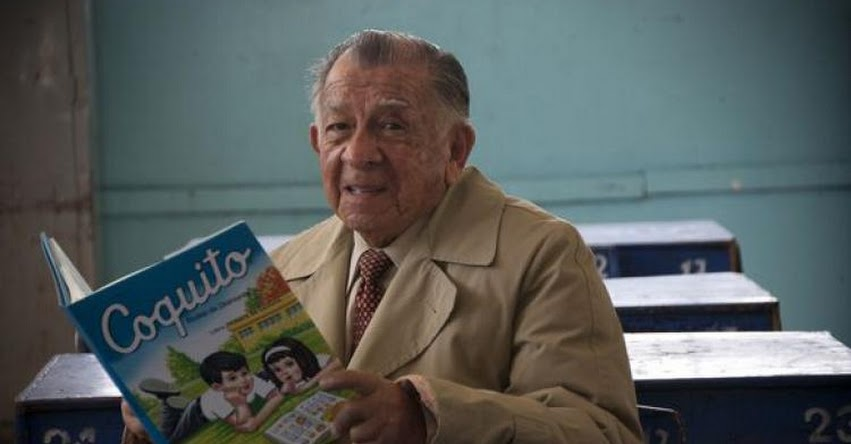 EVERARDO ZAPATA SANTILLANA: Creador de «Coquito» cumple 94 años