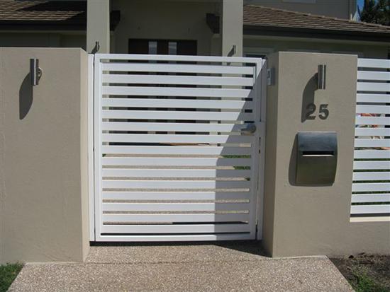 desain inspiratif pintu pagar rumah minimalis