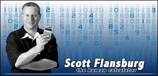 Scott Flansburg - Manusia Kalkulator