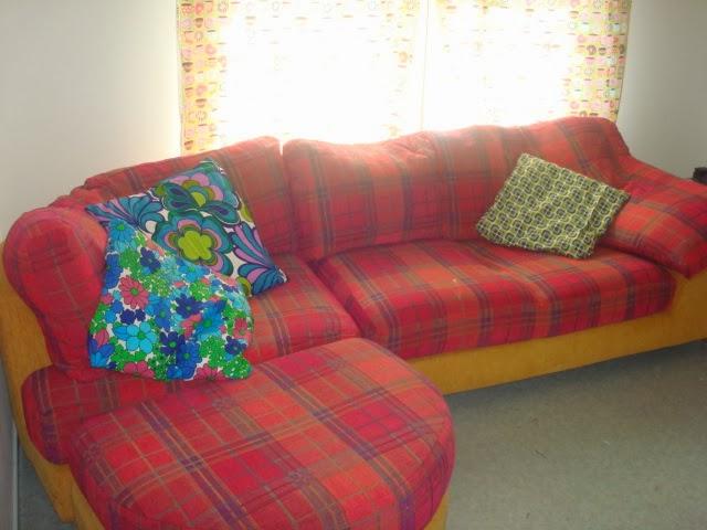 Sohvan värjääminen