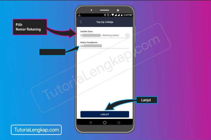Tutorialengkap 5 cara isi saldo LinkAja atau Tcash dengan Aplikasi Brimo Bank Bri secara Online
