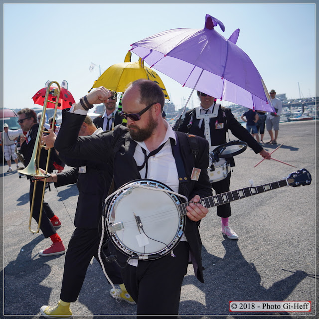 musiciens new-orleans 5 Fécamp pour la fete de la mer
